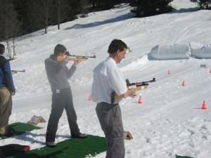 Schneider-quad+biathlon la clusaz haute savoie