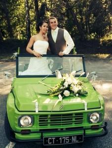 sandra mariage